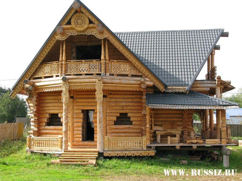 Элитные бревенчатые дома Бревенчатые дома ручной рубки из хвойных пород...