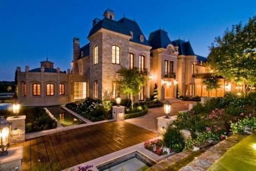 Красивые дорогие дома фото