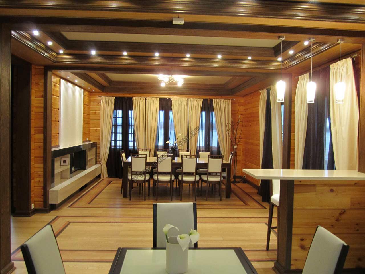 Внутренний интерьер дома фото