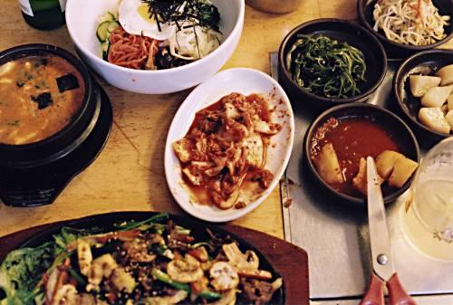 Блюда корейской кухни фото