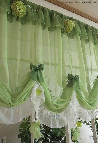 Купить шторы на кухню фото