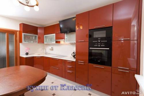 Терракотовая кухня фото