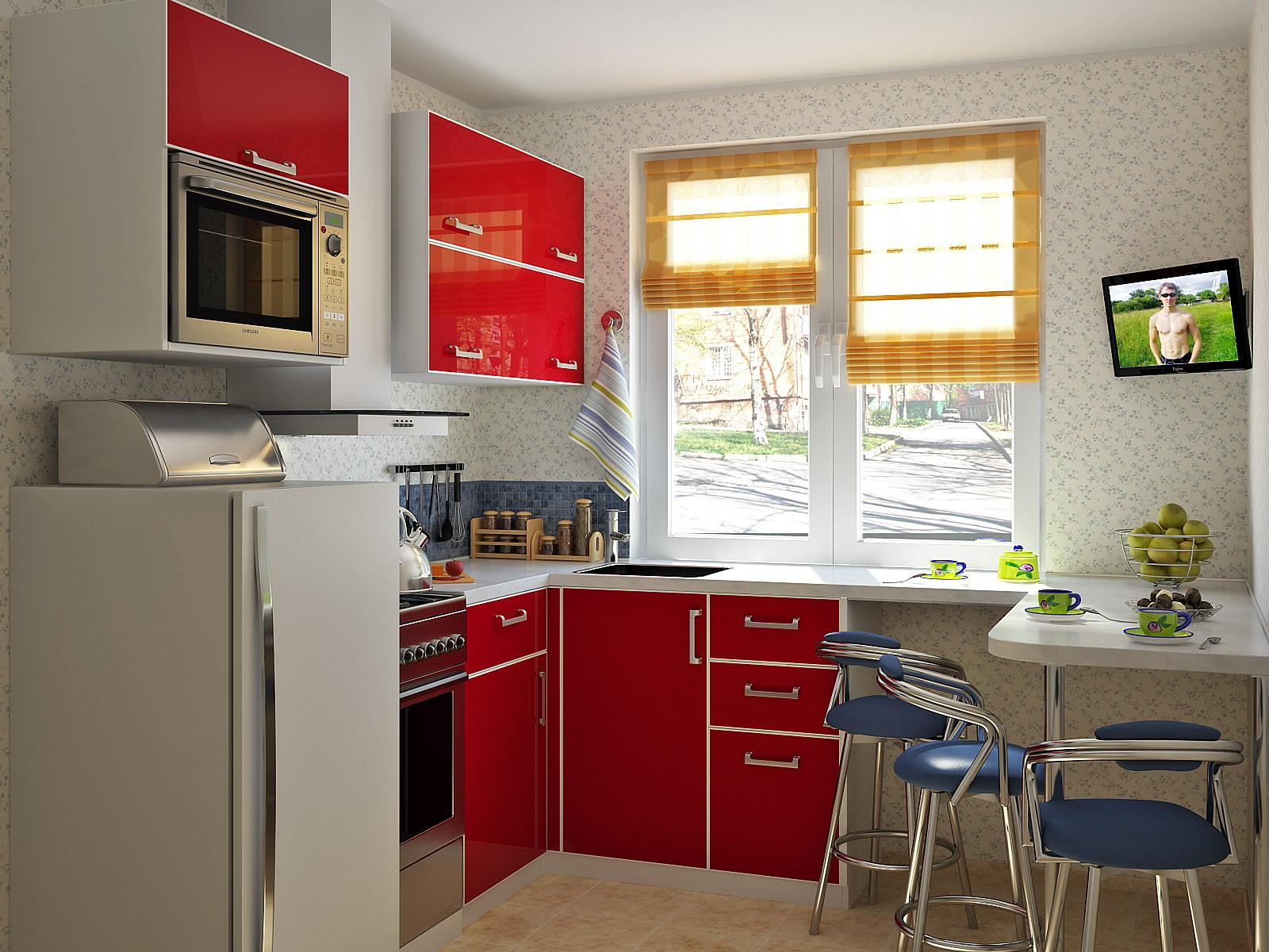 Кухня хрущевка 5 метров дизайн